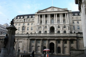 Bank of England from Royal Exchange plaza