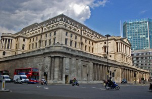 Bank of England - curtain wall at Bank Junction