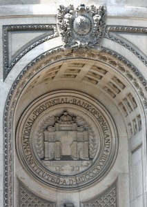 National Provincial Bank - Corporate seal with Bishopsgate