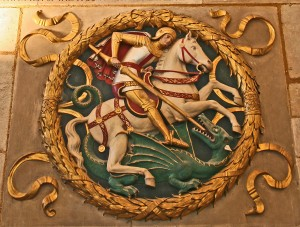 St. George and the Dragon, Southwark Cathedral