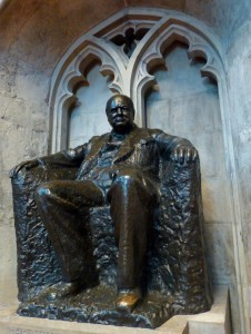 Churchill, Winston in Guildhall - Lumix14