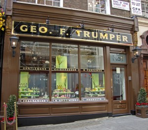 George Trumper is a Gentleman's Hairdresser and Perfumer in St. James's.