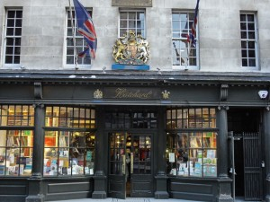 "Hatchard's on Piccadilly is a world-famous bookstore, but it has kept its traditional front and its traditional friendly and helpful staff. It is a wonderful place to visit if you like books. The Royal Coat of Arms above the door indicates that is it ""BOOKSELLERS TO HER MAJESTY THE QUEEN"". Can't beat that for a customer!"