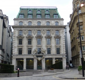 16 Old Bailey, City of London - built as offices for Chatham and Dover Railway