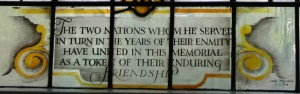 St. Mary Battersea - Benedict Arnold window quote - canon61