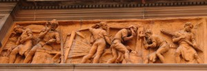 Cutlers Hall, 4 Warwick Lane, frieze 1