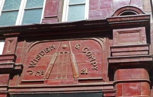 Wisden & Company at No. 21 Cranbourne Street, Covent Garden sold sporting goods.