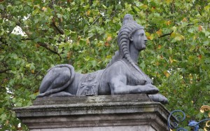 Sphinx on Devonshire Gate, Piccadilly