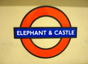 Elephant and Castle underground station