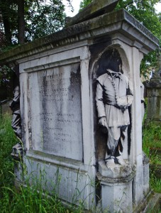 Robert Coombes, Champion Sculler, Brompton Cemetery