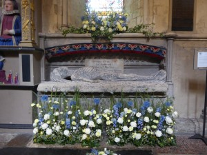 Southwark Cathedral - tomb of Thomas Cure