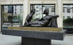 'Beyond Tomorrow' by Karin Jonzen, Guildhall Plaza