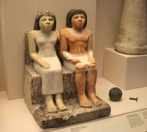 British Museum - Egyptian couple