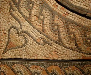 Heart - Roman mosaic, Museum of London