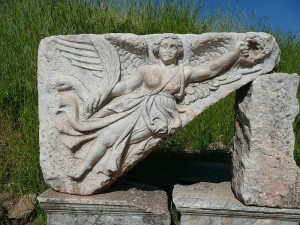 Winged Victory at Epheseus, Turkey