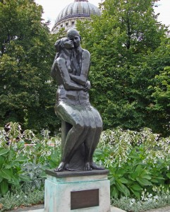 Young Lovers by Georg Erlich - St Paul's Cathedral garden